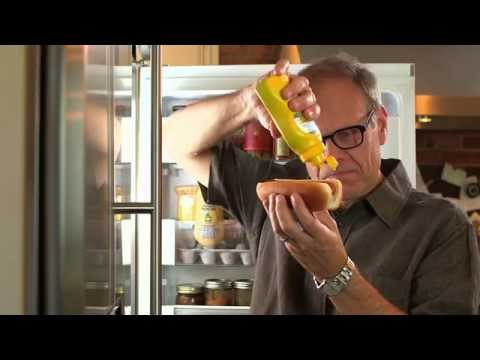 Alton Brown saves the world....from badly designed mustard containers
