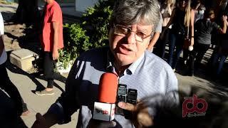 João Azevedo confirma sua presença em Sousa, e candidatura a Governo