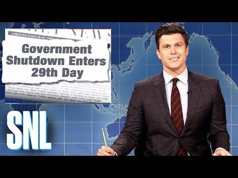 Weekend Update: Government Shutdown - SNL