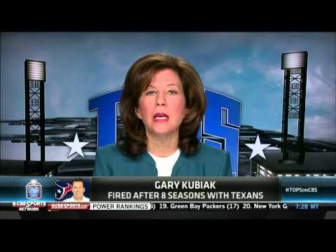 Video: Amy Trask on Kubiak and Texans