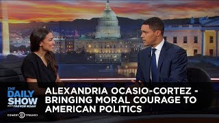 Video Alexandria Ocasio-Cortez - Bringing Moral Courage to American Politics | The Daily Show MP3, 3GP, MP4, WEBM, AVI, FLV Januari 2019