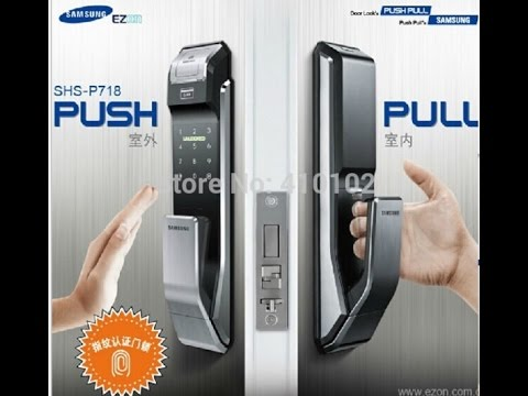 Samsung SHS-P718 Fingerprint Digital Door Lock