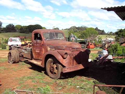 (Pt 1) Old WW2 1941 Chevrolet pick up truck comes to life again