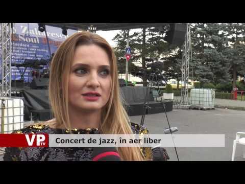 Concert de jazz, în aer liber