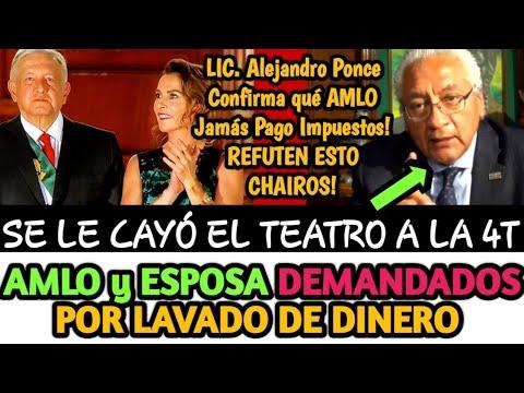 AMLO y SU ESPOSA DEMANDADOS POR LAVADO DE DINERO CONFIRMA ALEJANDRO PONCE | BETO ALFA NOTICIAS