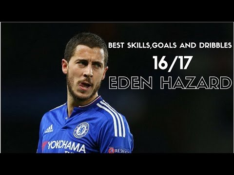 EDEN HAZARD - BEST SKILLS & GOALS - 2017 HD