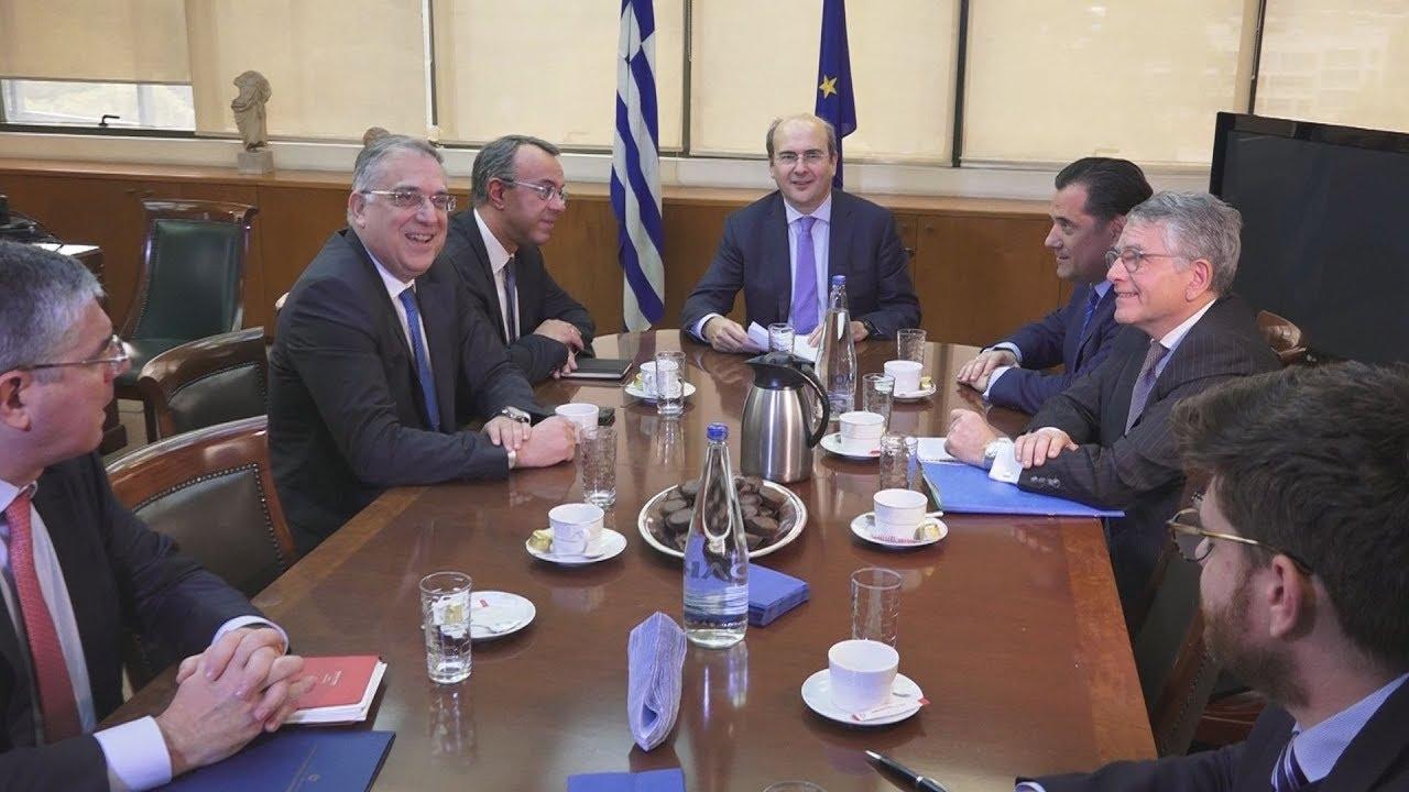 Συνεδρίαση της Κυβερνητικής Επιτροπής για την απολιγνιτοποίηση