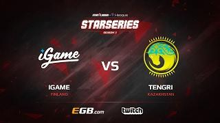 iGame vs Tengri, map 3 overpass, SL i-League StarSeries Season 3 Europe Qualifier