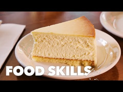 How Junior's Cheesecake Gets Made   Food Skills