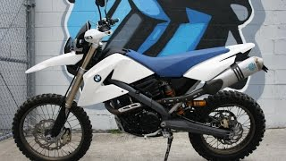 1. 2007 BMW G650X Challenge ...The Ultimate Dual Sport Riding Machine!
