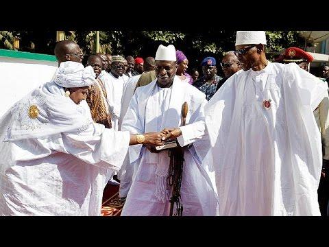 Γκάμπια: Αφρικανικό στρατιωτικό μέτωπο ενάντια στον Πρόεδρο Τζάμε