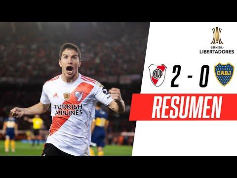 River Plate - Boca Juniors [2-0] | GOLES | Semifinal (Ida) | CONMEBOL Libertadores