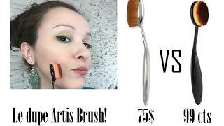 ARTIS BRUSH DUPE?! - YouTube