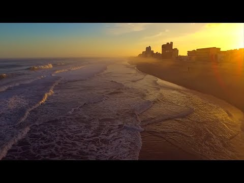 Scenic Aerial Film of Ocean City, Maryland