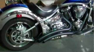 5. Kawasaki Vulcan VN2000 Radius Exhaust by Freedom Performance. Wicked Sound!