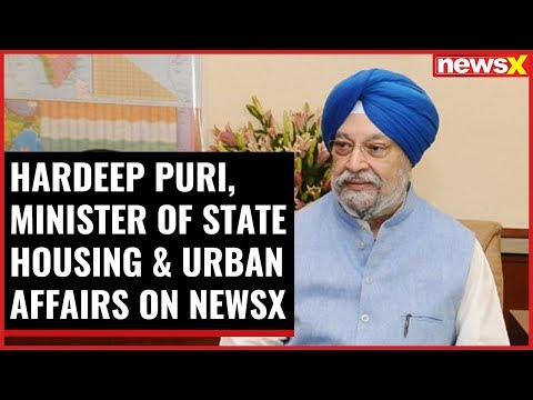 NewsX Conclave- Building India: Hardeep Puri, MoS Housing & Urban Affairs On NewsX