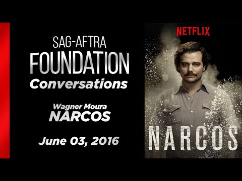 Conversations with Wagner Moura of NARCOS (видео)
