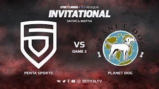 PENTA Sports против Planet Dog, Вторая карта, SL i-League Invitational S4 Европейская Квалификация