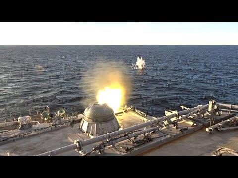 Испытания большого десантного корабля «Иван Грен» вБалтийске