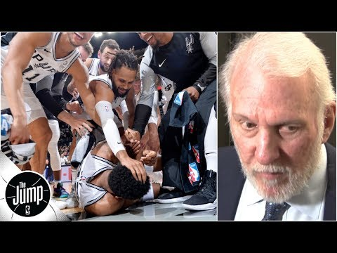 Video: Was coach Gregg Popovich too hard on the Spurs after a close win vs. the Suns? | The Jump