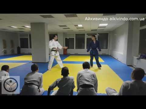 Айкидо. Техника - Маратэдори (кататэ ретэдори) Джуджи гарами. Клуб Айкивиндо Исток. Харьков. Айкивиндо = Айкидо + Вин чунь. Aikivindo = Aikido + Wing Chun. http://aikivindo.com.ua
