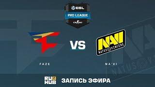 FaZe vs Na'Vi - ESL Pro League S6 EU - de_nuke [Enkanis, yXo]