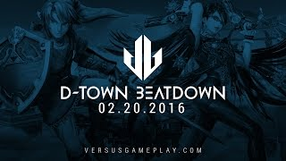 Smash 4 at D-Town Beatdown