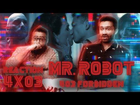 Mr. Robot - 4x3 403 Forbidden - Reaction