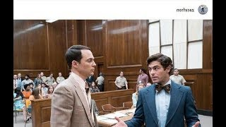 Zac Efron and Jim Parsons on set of Ted Bundy biopic