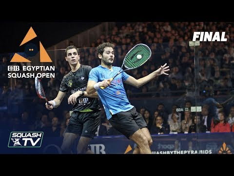 Squash: CIB Egyptian Squash Open 2019 - Final - Farag v Gawad