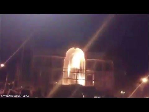 #فيديو :: مهاجمة #السفارة_السعودية في #طهران