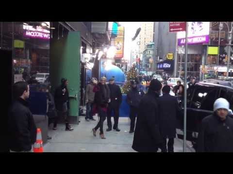The Real Housewives of Atlanta Reality TV star Nene Leaks leaving GMA in style in NYC