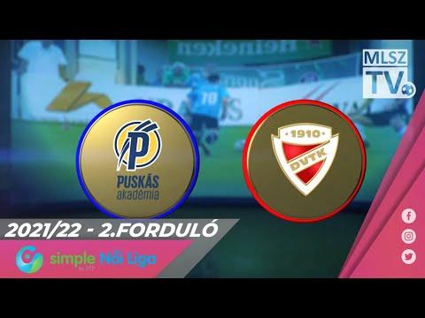 2. forduló PAFC - DVTK 1-3 (1-2)