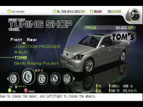 Import Tuner Challenge VIP Style Toyota Celsior  (TeamBadBoyRacing)