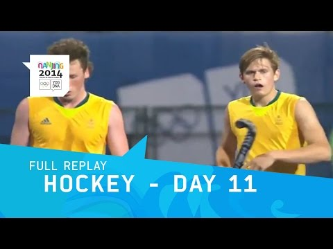 Hockey-  Men's Classification & Medals Matches | Full Replay | Nanjing 2014 Youth Olympic Games