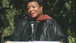 American poet, activist and AFI DWW alum Maya Angelou receives the AFI Conservatory Honorary Degree in 1994.