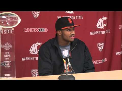 Deone Bucannon Interview 3/7/2014 video.