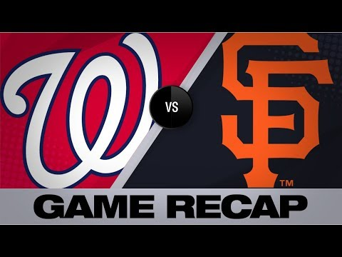 Video: Parra, Ross propel Nationals past Giants | Nationals-Giants Game Highlights 8/7/19