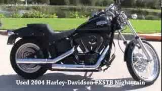 2. Used 2004 Harley Davidson FXSTB Softail Night Train