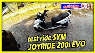 9. Test Ride JOYRIDE 200i EVO (bukan review) - motovlog #31