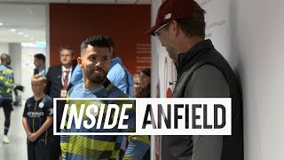 Inside Anfield: Liverpool v Man City | Featuring Oxlade-Chamberlain, a familiar face & more