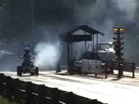 Drag Banshee vs a  suzuki hayabusa asphalt racing