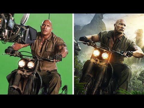 Amazing Before & After VFX Breakdown - Jumanji: The Next Level