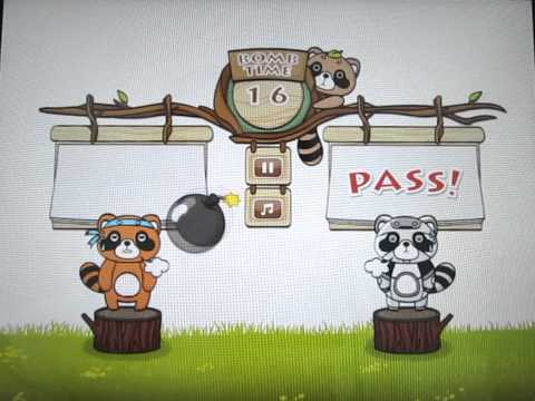 Video of Raccoon Party - 2 player game
