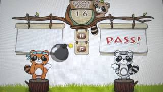 Raccoon Party - 2 player game YouTube video