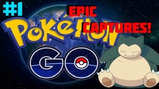 Pokemon Go Epic Captures Ep. 1! SNORLAX IN THE(my) HOUSE! by Master Jigglypuff and Friends