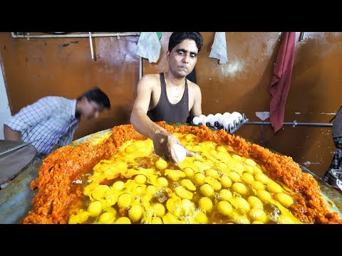 Indian Street Food in Mumbai - 400 Egg BIGGEST Scrambled Eggs + BEST Seafood in Mumbai, India!!!