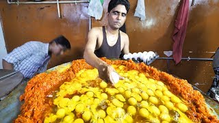 Video Indian Street Food in Mumbai - 400 Egg BIGGEST Scrambled Eggs + BEST Seafood in Mumbai, India!!! MP3, 3GP, MP4, WEBM, AVI, FLV November 2018
