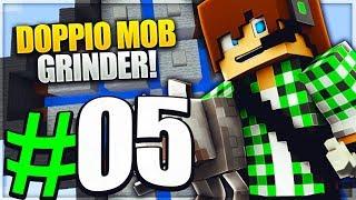 DOPPIO MOB GRINDER - Minecraft Cube Skyblock E5