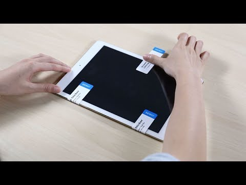 How to install Anker GlassGuard Screen Protector for your iPad